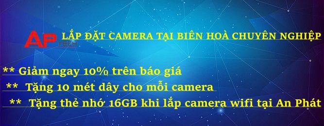 Lắp đặt camera quan sát tại Biên Hoà