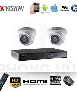 bộ camera hikvision 2 mắt 2.0mp